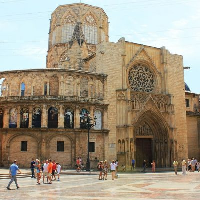 cathedral, valence, spain